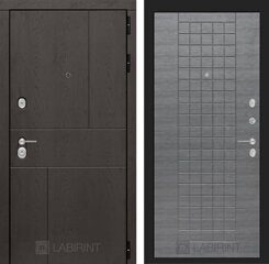 Labirint doors URBAN 09 - Лен сильвер