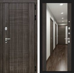 Labirint doors SCANDI Дарк грей с Зеркалом Максимум - Венге