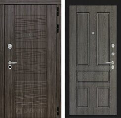 Labirint doors SCANDI Дарк грей 10 - Дуб филадельфия графит