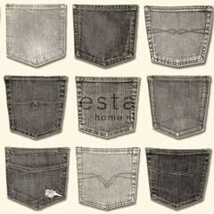 Обои Esta Home Denim&Co  137740