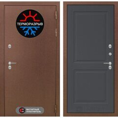 Labirint doors ТЕРМО МАГНИТ 11 (ГРАФИТ СОФТ)