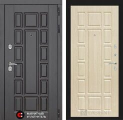 Labirint doors NEW YORK 12 - Беленый дуб